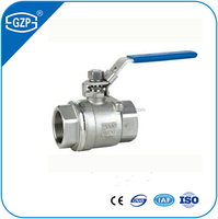 1 inch high mounting pad ball valve and female ball valve of lever handle