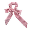 Girl Hair Rope Velvet Scrunchies Bowknot Elastic Hair Bands