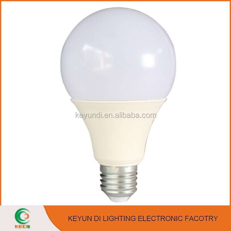 China supplier 3w 5w 7w 9w 12w e27 led bulb lamp with led lighting bulb