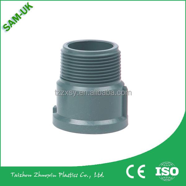 Pvc pipe fittings plastic threaded reducer buy
