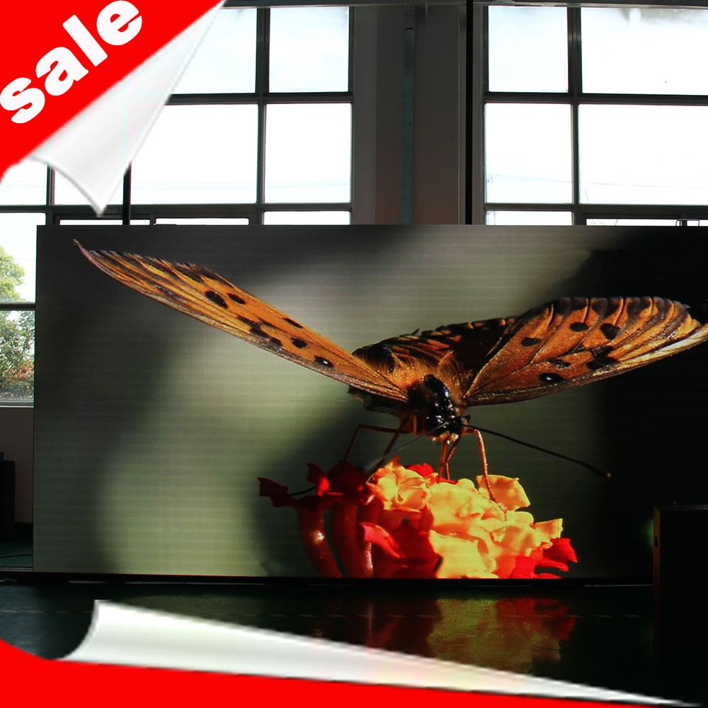 High quality customized p6 indoor full color small led screen(one cabinet is only USD208)