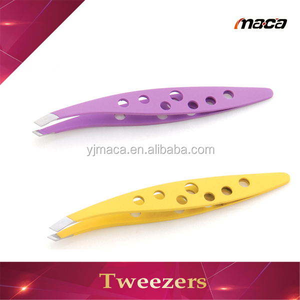 Hot sale high quality factory cheap price tweezer with rubber tip