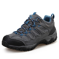 Mountaineering Shoes Men Cowhide Trekking Outdoor Deodorization Sneakers Hunting Wicking Shoes Non-slip Hiking Boot Waterproof