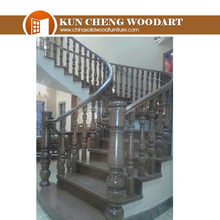 Home interior wood stairs RW12