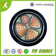 Low voltage 120mm2 copper xlpe insulated high quality 4 core power cable