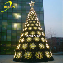 hotel decoration New luxurious giant christmas tree
