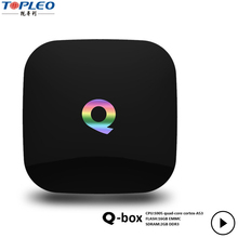 Amlogic S905 Q-box Smart Set Top Box unblock jailbroken android tv box