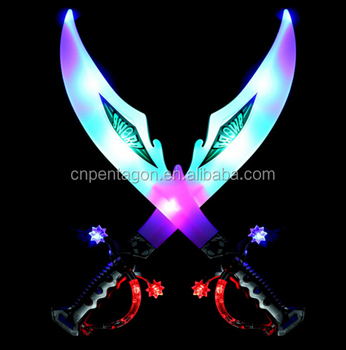 Wholesale muti-color flashing sword for kids toy