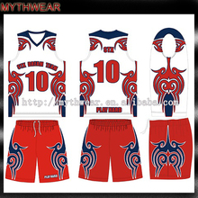 2016 New Cheap youth dry fit womens basketball uniform design