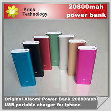 Original Xiaomi Power Bank 20800mAh For Xiaomi M2 M2A M2S M3 Red