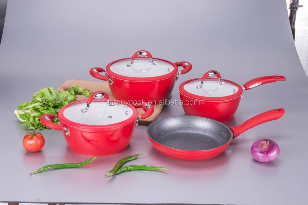 High quality aluminium ceramic coated european cookware
