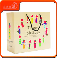 2015 decorative handmade fancy gift bags christmas brown paper bags