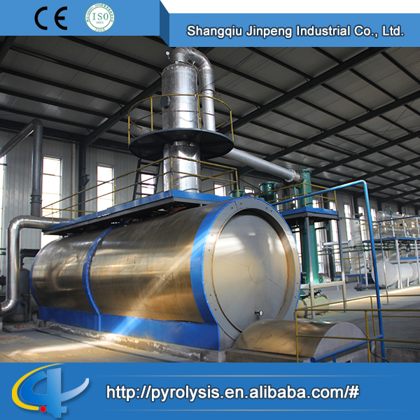 Quality OEM Horizontal Type Factory Direct Sale Crude Tyre/Plastic Oil Distill