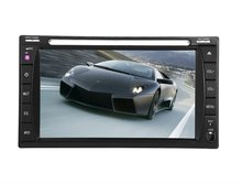 universal 6.2 inch 2 din car DVD player stereo / car audio / car stereo with sat nav gps with