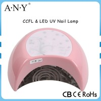 Professional Beautiful Salon Equipmen ABS Housing 30W CCFL LED Nail Mix UV Lamp for Glue