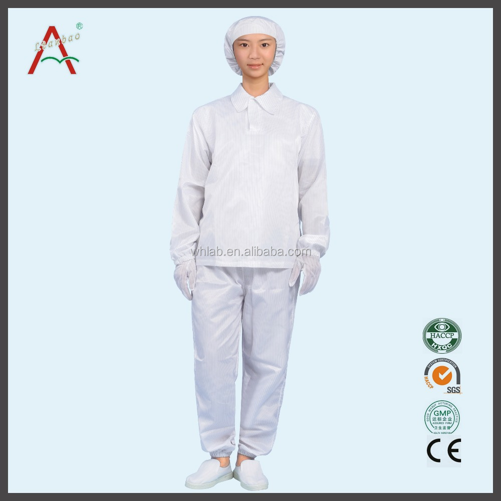 clean room products antistatic coverall type 100