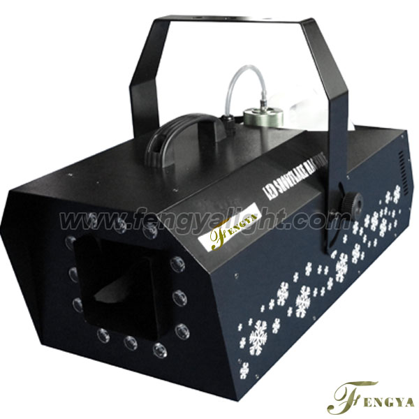 Special effect LED Snow machine
