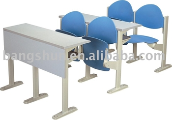 school furniture study desk and chair for college students