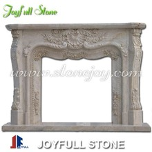 Handcarved Marble Fireplace Mantels for sale