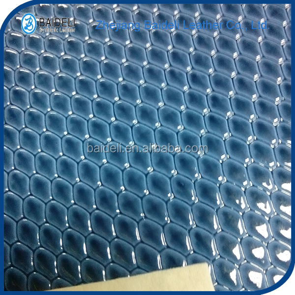 hotsale diamond pattern pvc leather rexine