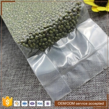 Heat seal color laminated transparent vacuum plastic food packing bags for sausage
