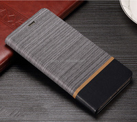 Premium Flip Stand Cover Slim Leather Case with Credit Card Holder for huawei p8 flip cover case