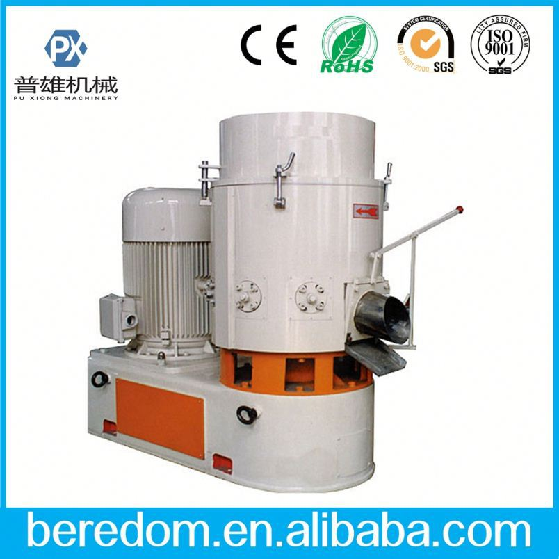 High Output Plastic Film Aggregate Agglomerating Machine