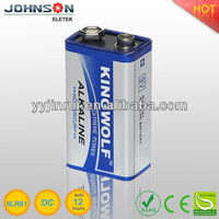 9v alkaline battery 6LR61 battery powered wireless camera