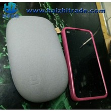 2014 newest unique design power bank stone power bank,universal external portable 2.1A/1A output power bank