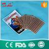 CE ISO FDA approved Cotton Perforated Capsicum Plaster/ Capsaicin Hot Patch --s
