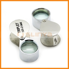 30X Magnifier Glass Jewelery Eye Lens Book Reading Sign Loupe Loop