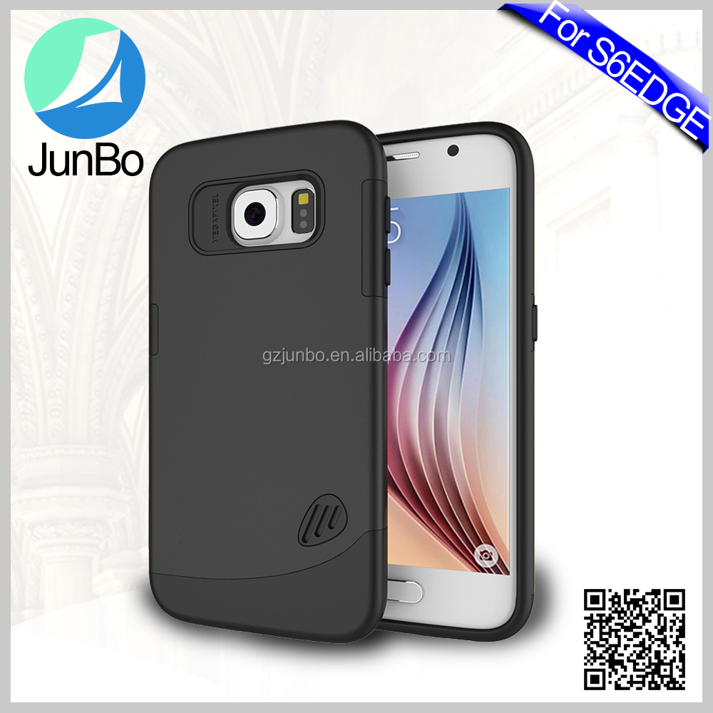 PC TPU Material Plastic Mobile Phone Case for Samsung Galaxy S6 Edge