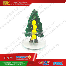 Novelty Toys Mid Magic Paper Growing Colorful Christmas Tree