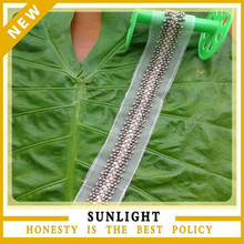 hot selling elegant embroidery plastic beads trimming