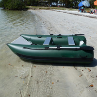 pvc boat inflatable with motor