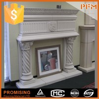 Hotselling Top Quality Custom Fitted Tumbled New Aire Fireplace