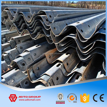 Factory Price Flex Beam Guardrail Corrugated Beam Guardrail W beam Dimensions