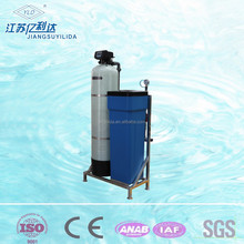 Water hardness removal Ion Exchange resin filter water softener system