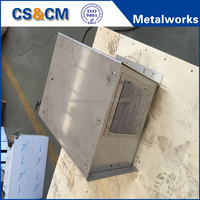 High precision custom sheet metal case fabrication service