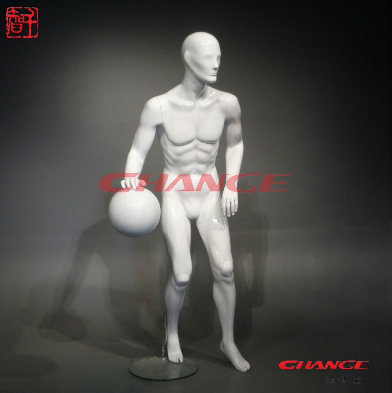 Muscle male sports mannequin