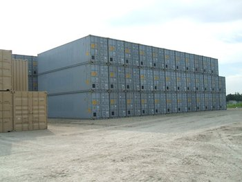 40' HC Steel ONE TRIP Container