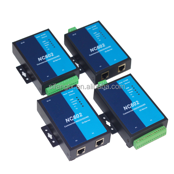 High quality 2 port ethernet hub, serial device server