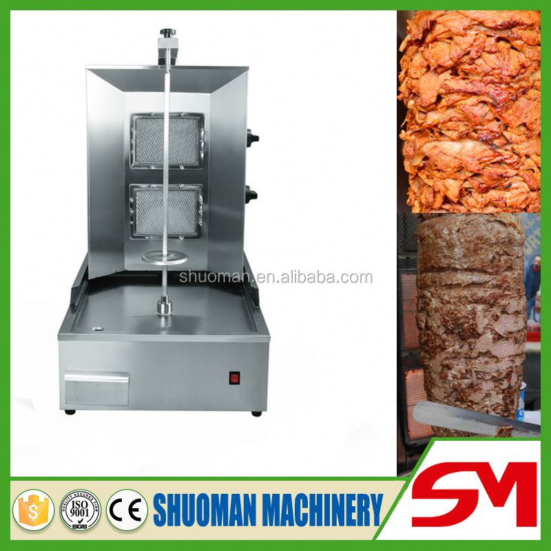 Advanced technology and luxurious doner kebab cutting machine