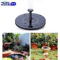 Solar Fountain, Solar Powered Bird Bath Fountain Pump 1.4W Solar Panel Kit Water Pump,Outdoor Watering Submersible Pump for Pond