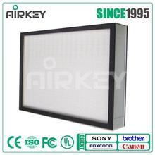 99.99% High Efficiency Fiberglass H14 HEPA Filter