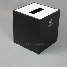 Acrylic tissue box high quality for hotel