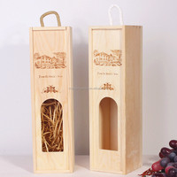 Wooden Wine Box Holder Gift Craft