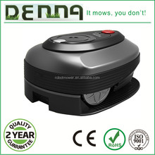 The newest style robot lawn mower with burshless dc motor and 24V lithium battery