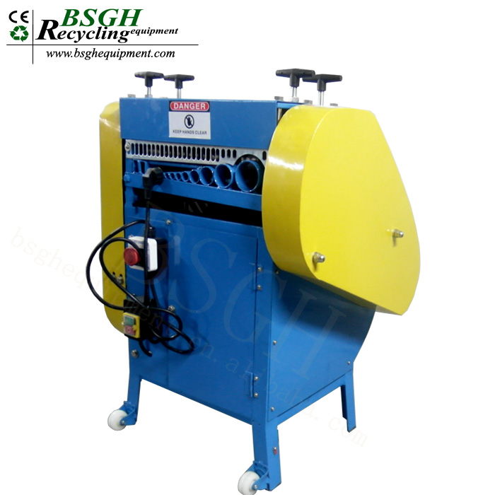 Flexible Useful Used Electronic Scrap Wire Recycle Recycling Machine Wire Cable Cutting Equipment