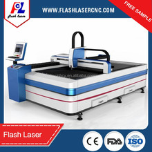 5mm 10mm stainless steel/carbon steel fiber laser cutting machine with 500W/1000W Raycus laser source